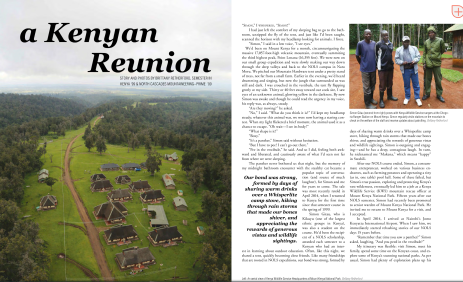 A Kenyan Reunion